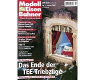 """модель Железнодорожный Моделизм 19712-85 Журнал """"Modell EisenBahner"""". Номер 1 / 2000. На немецком языке."""