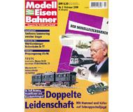 """модель Железнодорожный Моделизм 19713-85 Журнал """"Modell EisenBahner"""". Номер 2 / 2000. На немецком языке."""