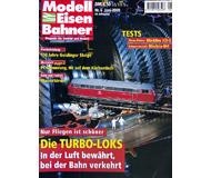 """модель Железнодорожный Моделизм 19717-85 Журнал """"Modell EisenBahner"""". Номер 6 / 2000. На немецком языке."""
