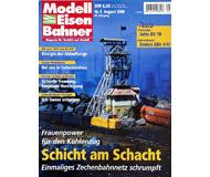 """модель Железнодорожный Моделизм 19719-85 Журнал """"Modell EisenBahner"""". Номер 8 / 2000. На немецком языке."""