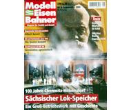"""модель Железнодорожный Моделизм 19720-85 Журнал """"Modell EisenBahner"""". Номер 9 / 2000. На немецком языке."""