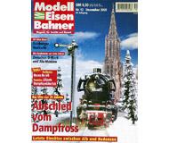 """модель Железнодорожный Моделизм 19723-85 Журнал """"Modell EisenBahner"""". Номер 12 / 2000. На немецком языке."""