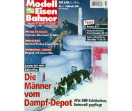 """модель Железнодорожный Моделизм 19725-85 Журнал """"Modell EisenBahner"""". Номер 2 / 2001. На немецком языке."""