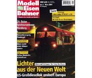 """модель Железнодорожный Моделизм 19726-85 Журнал """"Modell EisenBahner"""". Номер 3 / 2001. На немецком языке."""