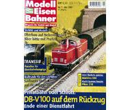 """модель Железнодорожный Моделизм 19728-85 Журнал """"Modell EisenBahner"""". Номер 5 / 2001. На немецком языке."""