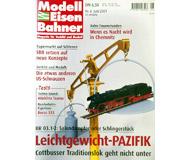 """модель Железнодорожный Моделизм 19729-85 Журнал """"Modell EisenBahner"""". Номер 6 / 2001. На немецком языке."""