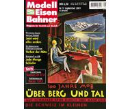 """модель Железнодорожный Моделизм 19732-85 Журнал """"Modell EisenBahner"""". Номер 9 / 2001. На немецком языке."""
