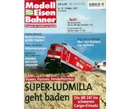 """модель Железнодорожный Моделизм 19733-85 Журнал """"Modell EisenBahner"""". Номер 10 / 2001. На немецком языке."""