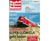 "модель Horston 19733-85 Журнал ""Modell EisenBahner"". Номер 10 / 2001. На немецком языке."