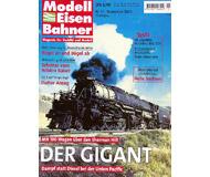"""модель Железнодорожный Моделизм 19734-85 Журнал """"Modell EisenBahner"""". Номер 11 / 2001. На немецком языке."""