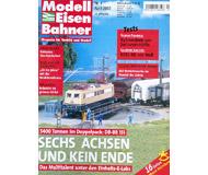 """модель Железнодорожный Моделизм 19739-85 Журнал """"Modell EisenBahner"""". Номер 4 / 2002. На немецком языке."""