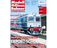 """модель Железнодорожный Моделизм 19740-85 Журнал """"Modell EisenBahner"""". Номер 5 / 2002. На немецком языке."""