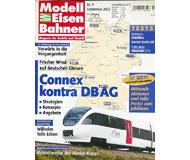 """модель Железнодорожные модели 19744-85 Журнал """"Modell EisenBahner"""". Номер 9 / 2002. На немецком языке."""