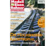 """модель Железнодорожные модели 19745-85 Журнал """"Modell EisenBahner"""". Номер 10 / 2002. На немецком языке."""