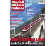 """модель Железнодорожные модели 19746-85 Журнал """"Modell EisenBahner"""". Номер 11 / 2002. На немецком языке."""