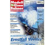 """модель Железнодорожные модели 19748-85 Журнал """"Modell EisenBahner"""". Номер 1 / 2003. На немецком языке."""