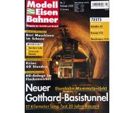 """модель Железнодорожные модели 19749-85 Журнал """"Modell EisenBahner"""". Номер 2 / 2003. На немецком языке."""