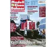 """модель Железнодорожные модели 19750-85 Журнал """"Modell EisenBahner"""". Номер 3 / 2003. На немецком языке."""