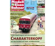 """модель Железнодорожные модели 19751-85 Журнал """"Modell EisenBahner"""". Номер 4 / 2003. На немецком языке."""