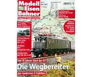 """модель Железнодорожные модели 19752-85 Журнал """"Modell EisenBahner"""". Номер 5 / 2003. На немецком языке."""