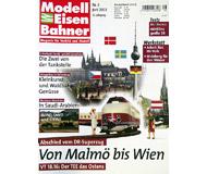 """модель Железнодорожные модели 19753-85 Журнал """"Modell EisenBahner"""". Номер 6 / 2003. На немецком языке."""