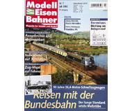 """модель Железнодорожные модели 19754-85 Журнал """"Modell EisenBahner"""". Номер 7 / 2003. На немецком языке."""