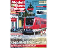 """модель Железнодорожные модели 19757-85 Журнал """"Modell EisenBahner"""". Номер 10 / 2003. На немецком языке."""