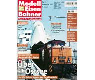 """модель Железнодорожный Моделизм 19758-85 Журнал """"Modell EisenBahner"""". Номер 11 / 2003. На немецком языке."""