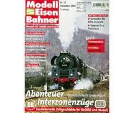 """модель Железнодорожный Моделизм 19759-85 Журнал """"Modell EisenBahner"""". Номер 12 / 2003. На немецком языке."""