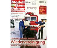 """модель Железнодорожные модели 19760-85 Журнал """"Modell EisenBahner"""". Номер 1 / 2004. На немецком языке."""