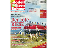"""модель Железнодорожный Моделизм 19761-85 Журнал """"Modell EisenBahner"""". Номер 2 / 2004. На немецком языке."""