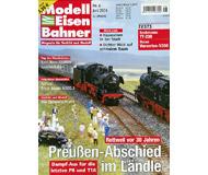 """модель Железнодорожный Моделизм 19765-85 Журнал """"Modell EisenBahner"""". Номер 6 / 2004. На немецком языке."""