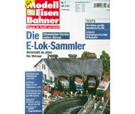 """модель Железнодорожный Моделизм 19766-85 Журнал """"Modell EisenBahner"""". Номер 7 / 2004. На немецком языке."""
