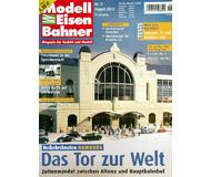 """модель Железнодорожный Моделизм 19767-85 Журнал """"Modell EisenBahner"""". Номер 8 / 2004. На немецком языке."""