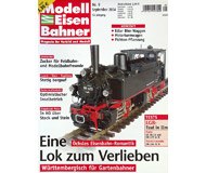 """модель Железнодорожный Моделизм 19768-85 Журнал """"Modell EisenBahner"""". Номер 9 / 2004. На немецком языке."""