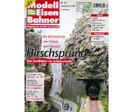 """модель Железнодорожные модели 19771-85 Журнал """"Modell EisenBahner"""". Номер 12 / 2004. На немецком языке."""