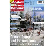 """модель Железнодорожный Моделизм 19772-85 Журнал """"Modell EisenBahner"""". Номер 1 / 2005. На немецком языке."""