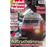 """модель Железнодорожный Моделизм 19773-85 Журнал """"Modell EisenBahner"""". Номер 2 / 2005. На немецком языке."""