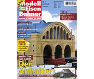 """модель Железнодорожный Моделизм 19775-85 Журнал """"Modell EisenBahner"""". Номер 4 / 2005. На немецком языке."""