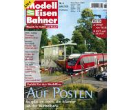 """модель Железнодорожные модели 19777-85 Журнал """"Modell EisenBahner"""". Номер 6 / 2005. На немецком языке."""