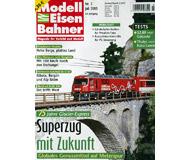 """модель Железнодорожные модели 19778-85 Журнал """"Modell EisenBahner"""". Номер 7 / 2005. На немецком языке."""