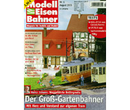 """модель Железнодорожные модели 19779-85 Журнал """"Modell EisenBahner"""". Номер 8 / 2005. На немецком языке."""