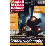 """модель Железнодорожные модели 19780-85 Журнал """"Modell EisenBahner"""". Номер 9 / 2005. На немецком языке."""