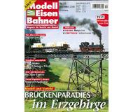 """модель Железнодорожные модели 19782-85 Журнал """"Modell EisenBahner"""". Номер 11 / 2005. На немецком языке."""