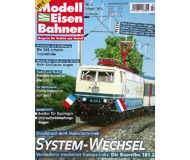 """модель Железнодорожные модели 19785-85 Журнал """"Modell EisenBahner"""". Номер 2 / 2006. На немецком языке."""