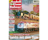 """модель Железнодорожный Моделизм 19792-85 Журнал """"Modell EisenBahner"""". Номер 9 / 2006. На немецком языке."""