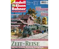 """модель Железнодорожный Моделизм 19795-85 Журнал """"Modell EisenBahner"""". Номер 12 / 2006. На немецком языке."""