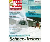 """модель Железнодорожный Моделизм 19796-85 Журнал """"Modell EisenBahner"""". Номер 1 / 2007. На немецком языке."""
