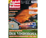 """модель Железнодорожный Моделизм 19797-85 Журнал """"Modell EisenBahner"""". Номер 2 / 2007. На немецком языке."""