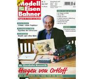 """модель Железнодорожный Моделизм 19800-85 Журнал """"Modell EisenBahner"""". Номер 5 / 2007. На немецком языке."""